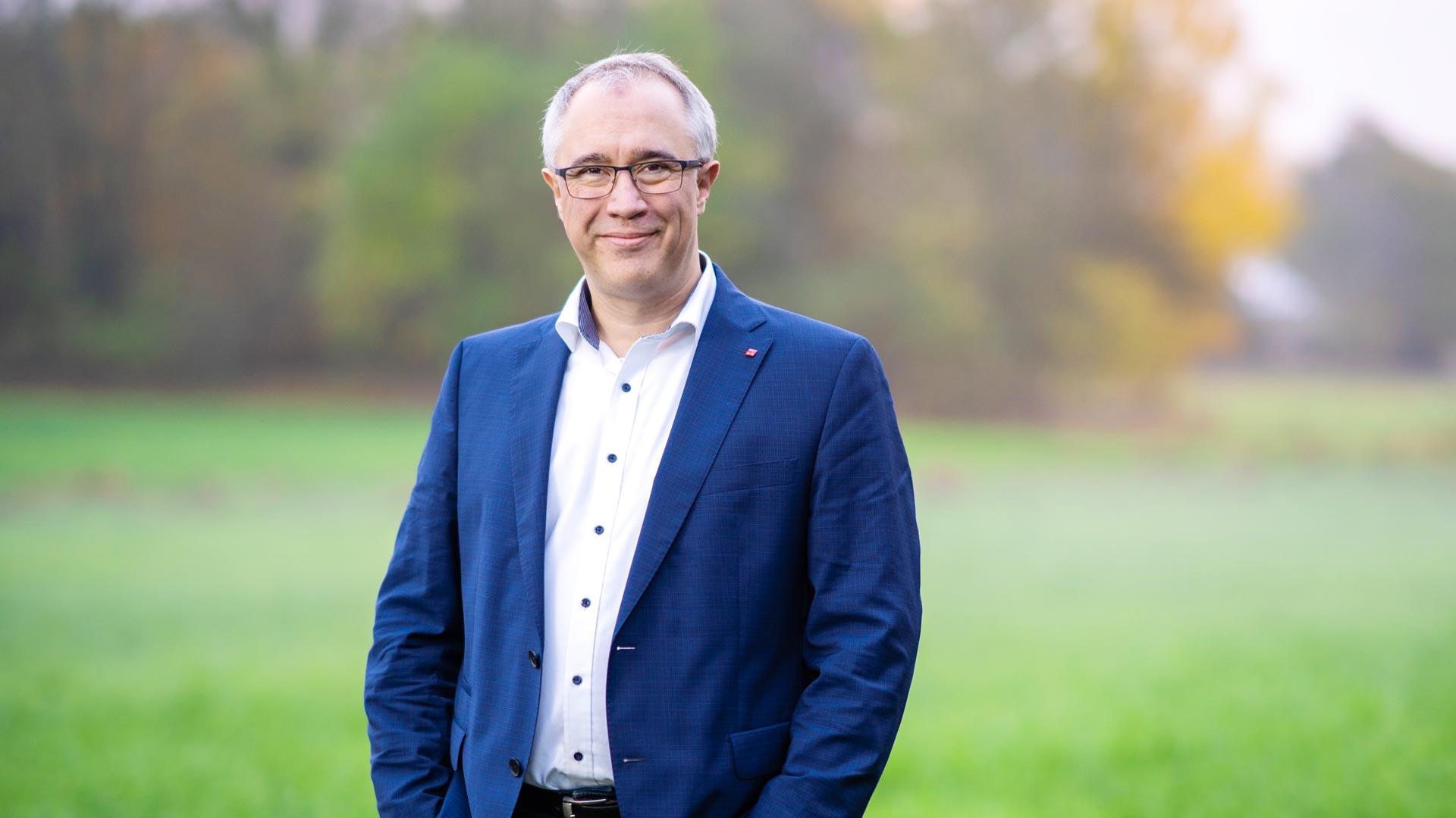 Dirk Fornahl geht für Baddeckenstedt ins Rennen