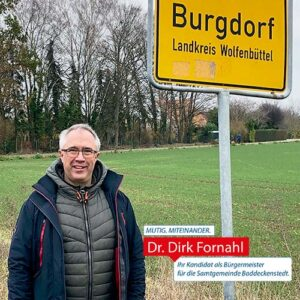 Dirk Fornahl ruft zur Einreichung Ideen auf Meine beste Idee Burgdorf