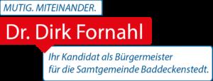 Dirk Fornahls Motto Mutig Miteaindern