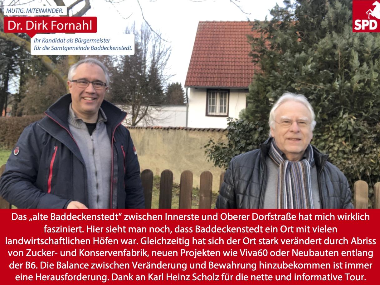 Dirk Fornahl in Baddeckenstedt
