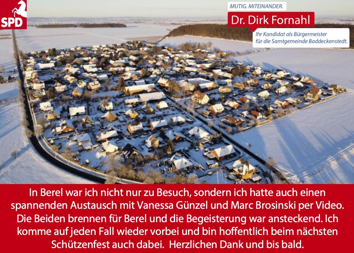Dirk Fornahl in Berel - Luftaufnahme