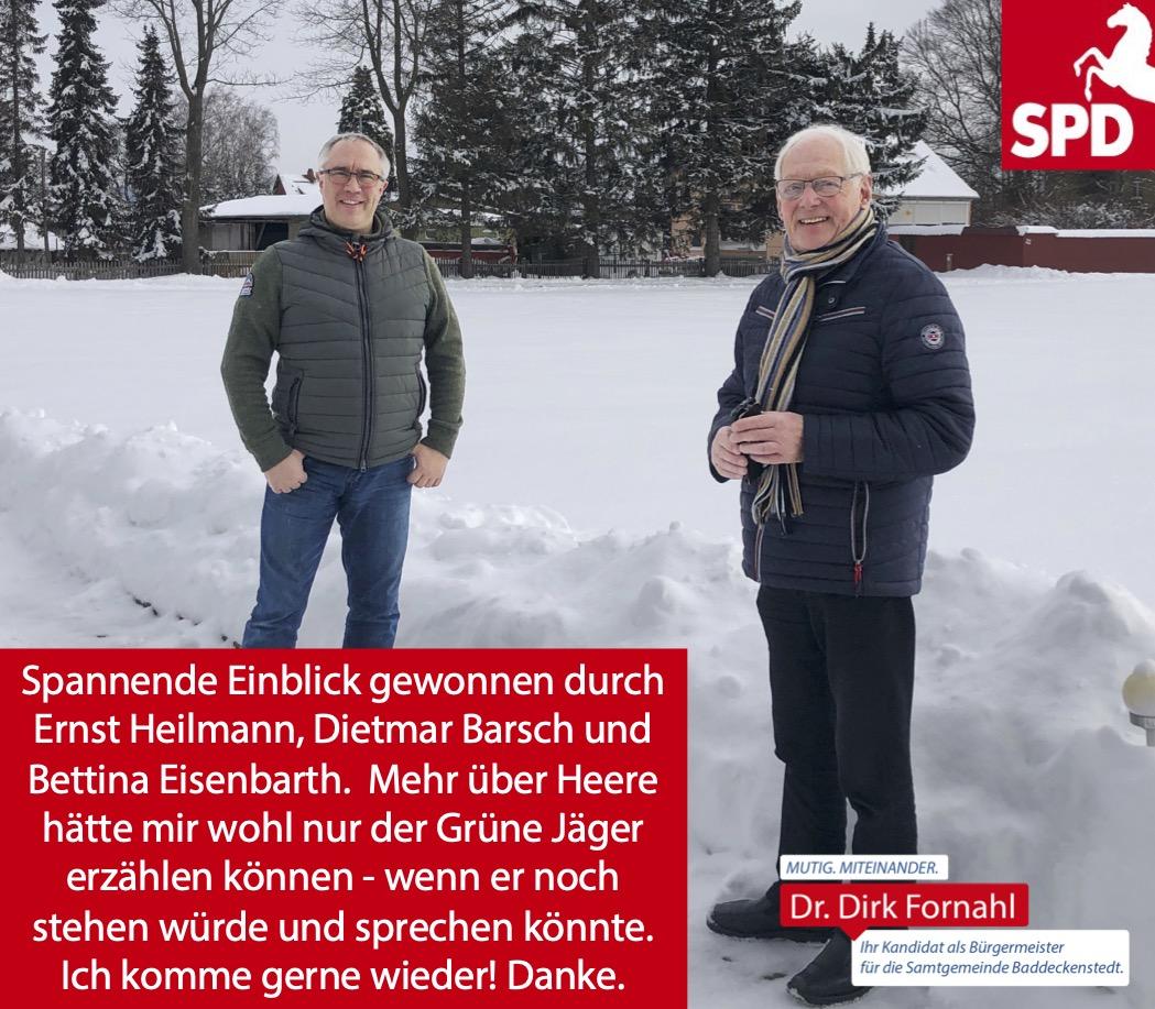 Dirk Fornahl in Heere