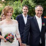 Wiebke und Dirk Fornahl bei der Hochzeit