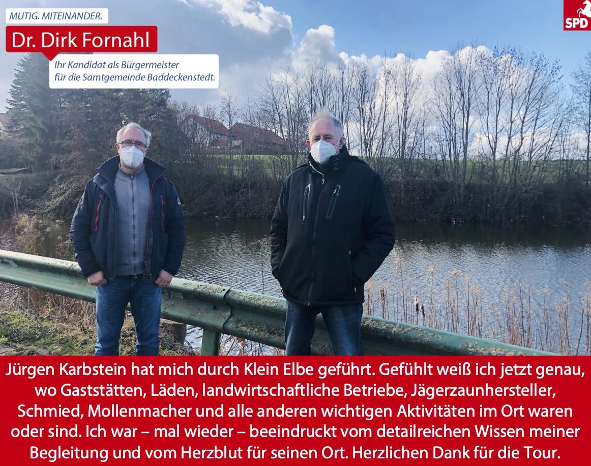 Dirk Fornahl in Klein Elbe