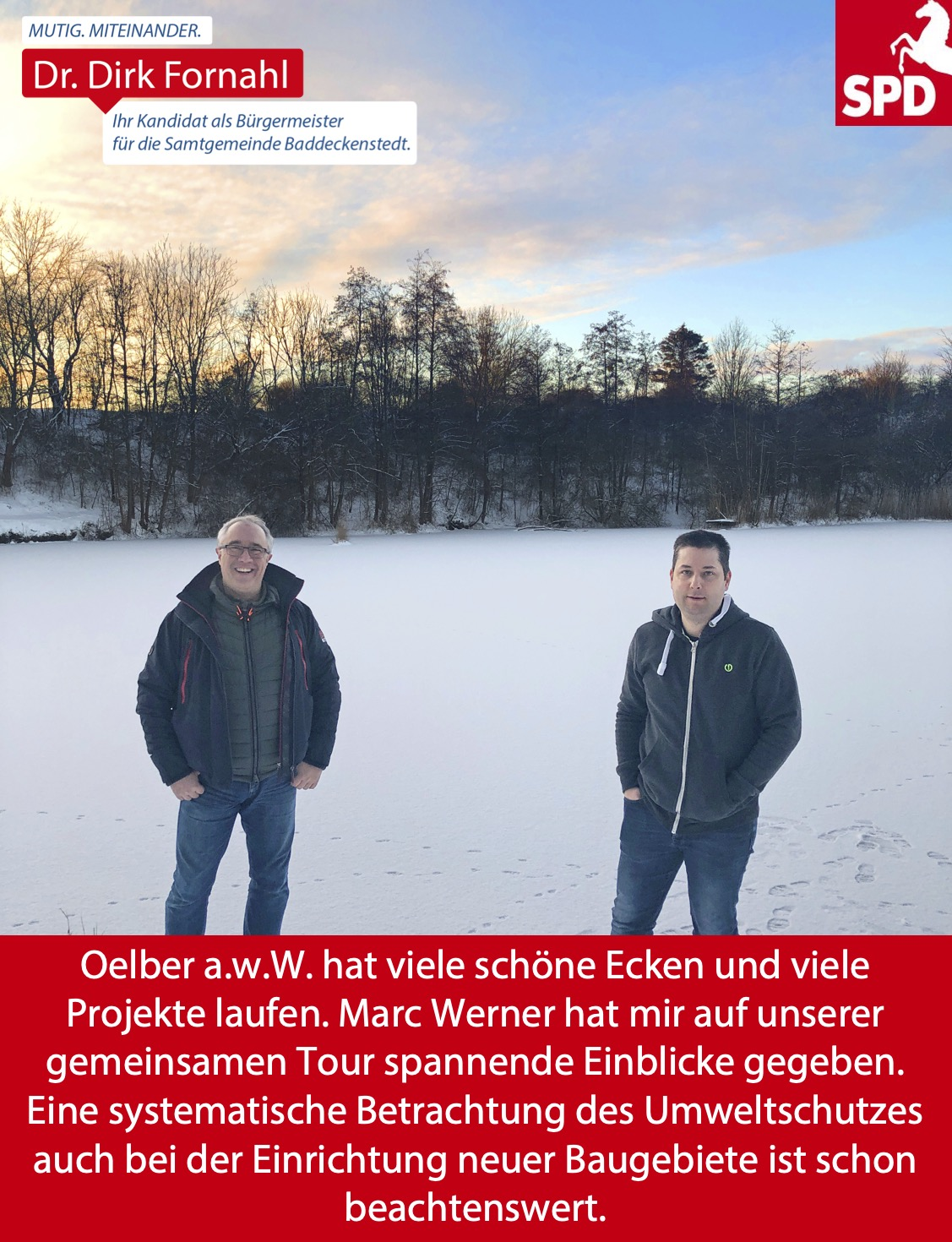 Dirk Fornahl in Oelber