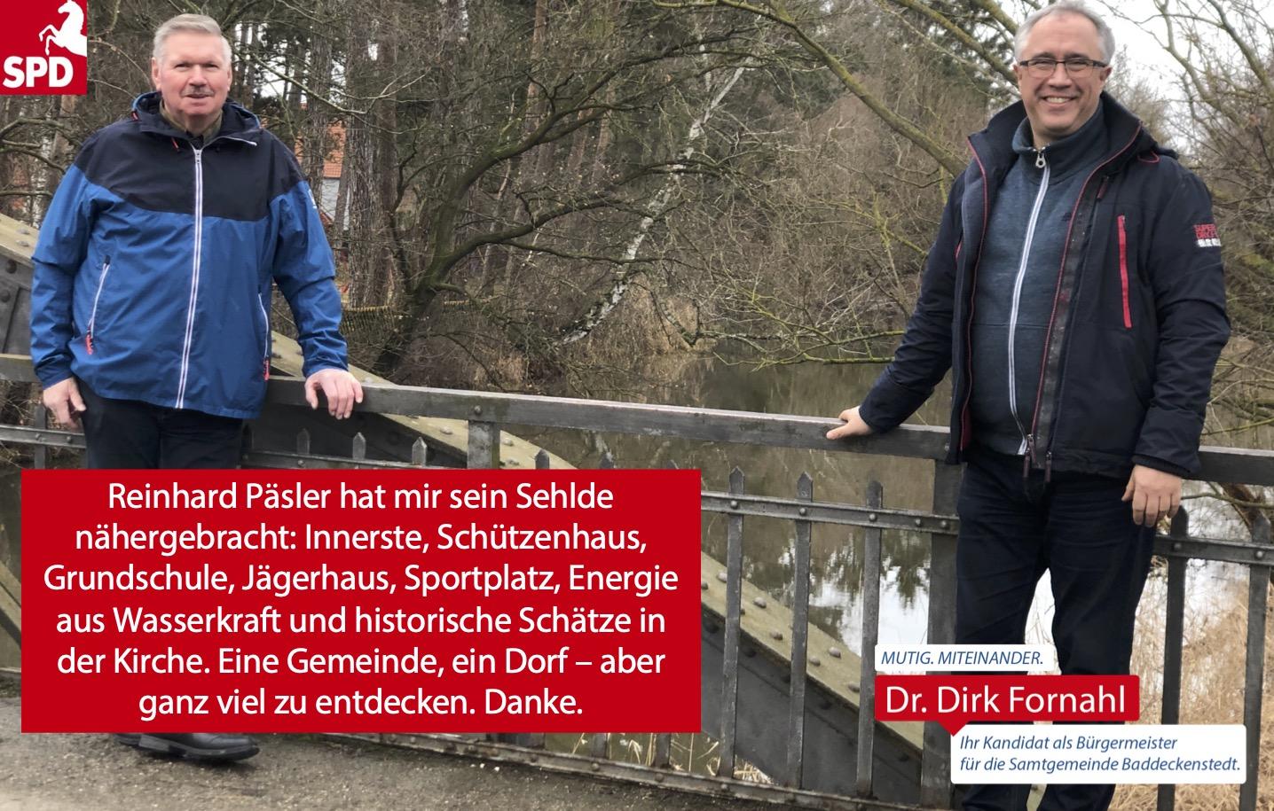 Dirk Fornahl in Sehlde