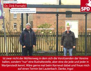 Dirk Fornahl in Wartjenstedt