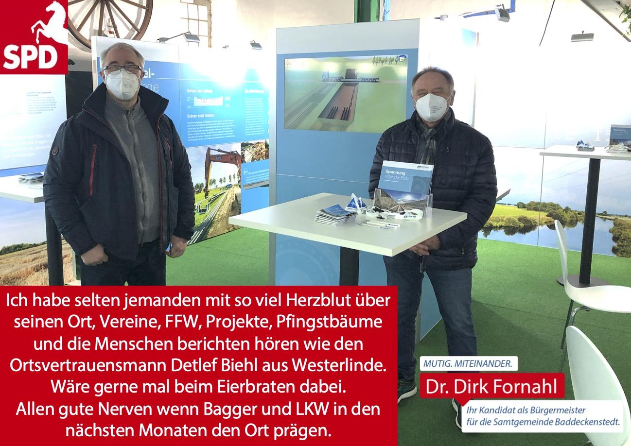 Dirk Fornahl in Westerlinde